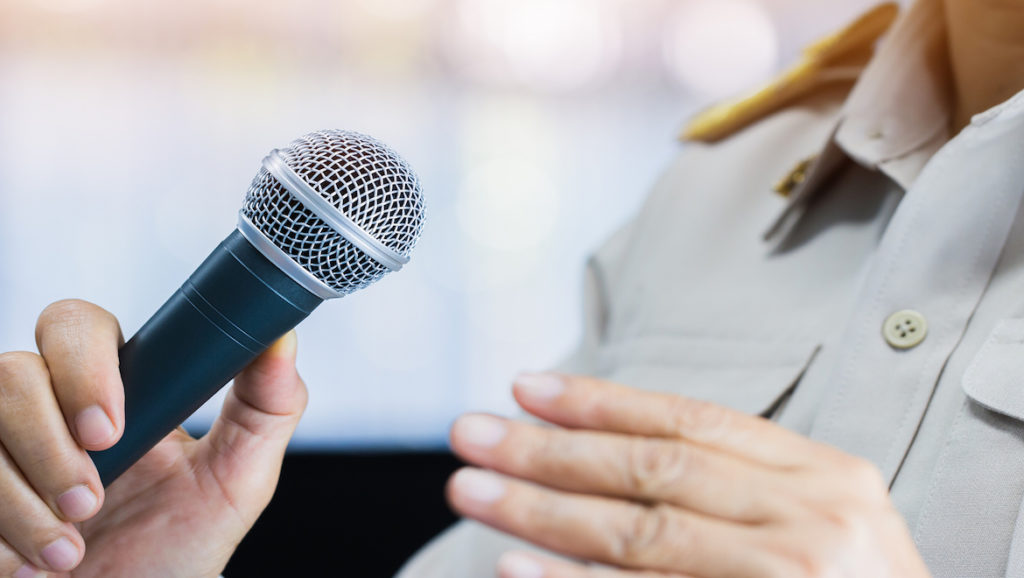 Avoid These Things When Public Speaking